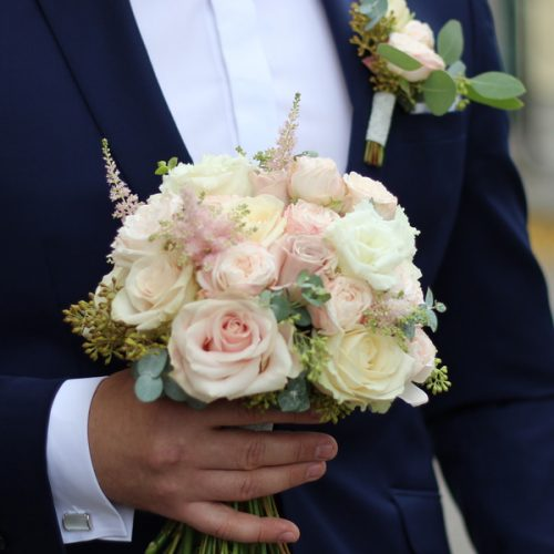 Свадебный букет заказать с доставкой в Бресте