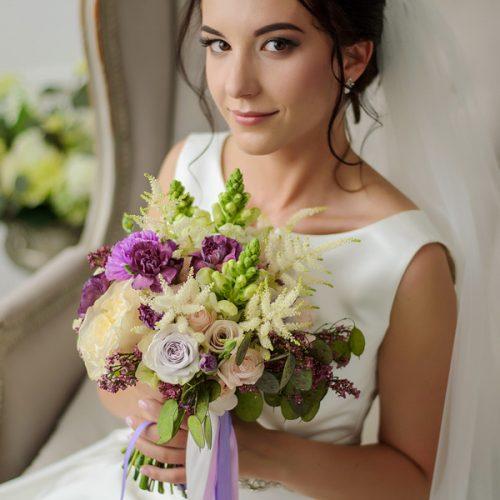 Шикарный свадебный букет купить в Бресте