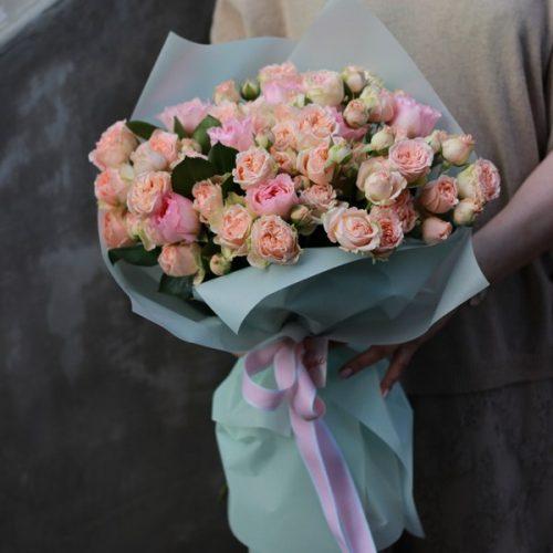 Монобукет из кустовых роз доставка в Бресте