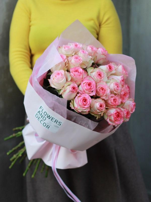 Монобукет из роз доставка в Бресте