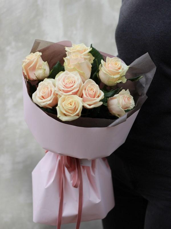 Монобукет из кустовой розы купить в Бресте