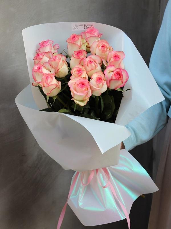 Букет свежих роз купить в Бресте анфлор
