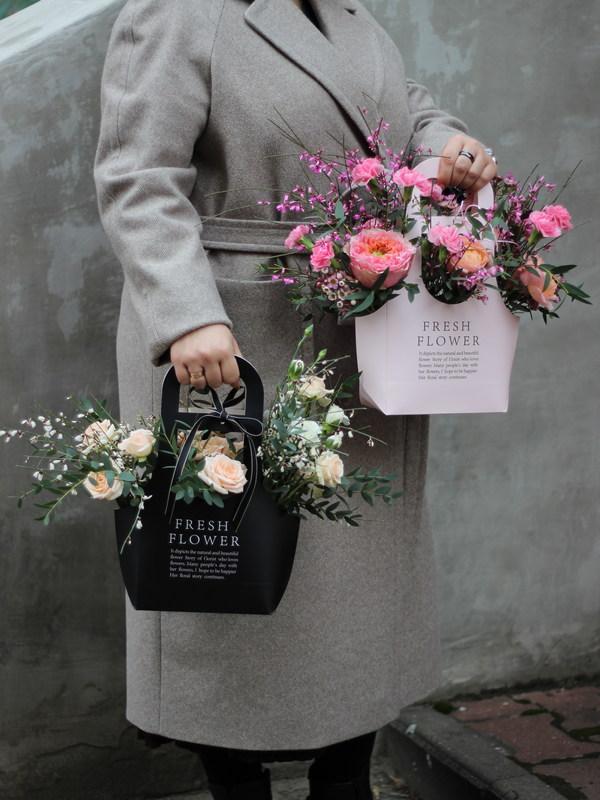 Корзина с цветами купить в Бресте