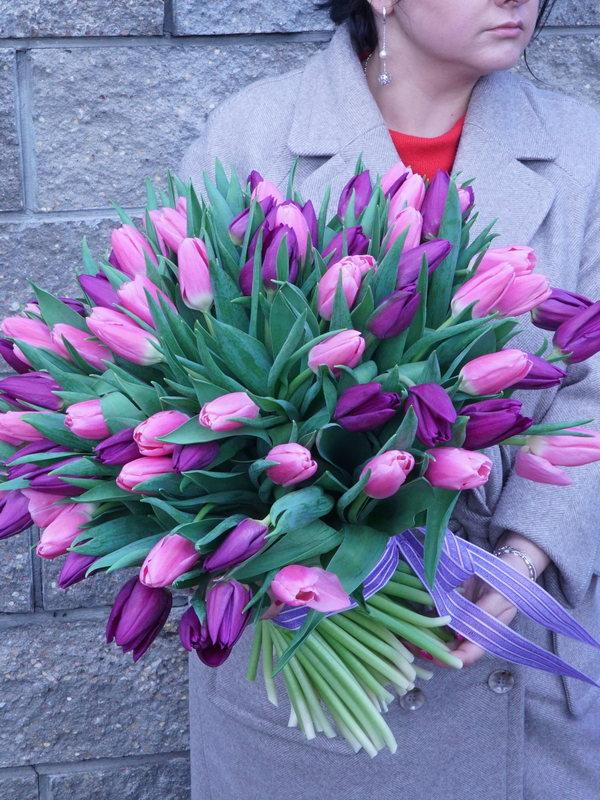 Бокс с цветами купить в Бресте
