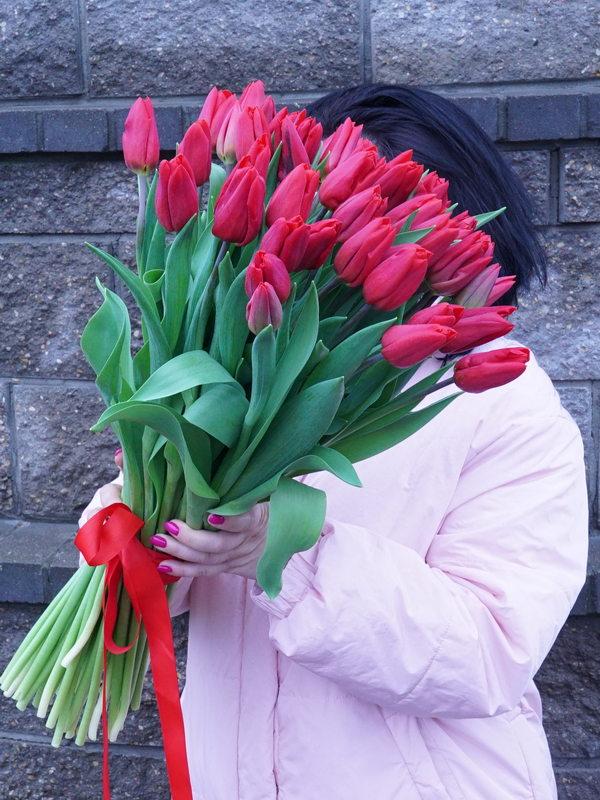 Букет тюльпанов купить в Бресте