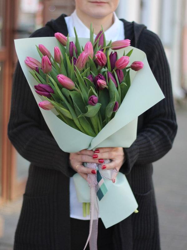 Купить тюльпаны к 8 марта Брест