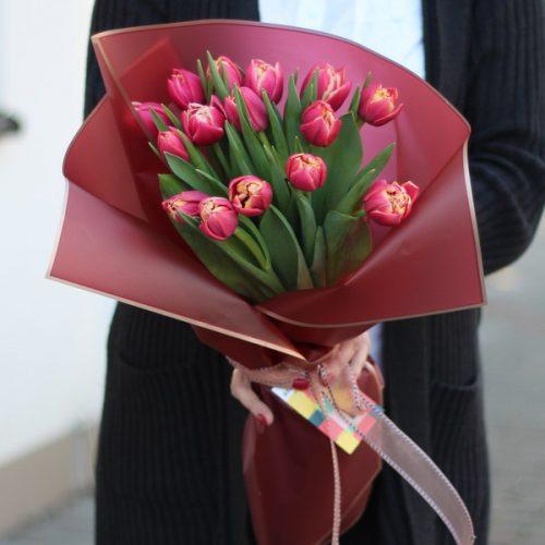 Букет тюльпанов к 8 марта купить в Бресте