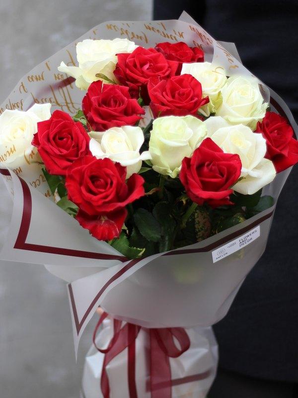 Букет роз купить в Бресте с доставкой