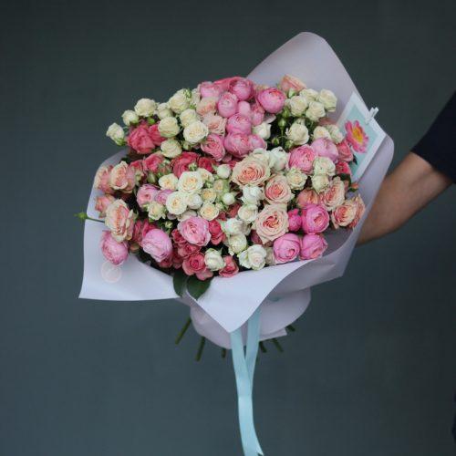 Кустовые розы купить в Бресте
