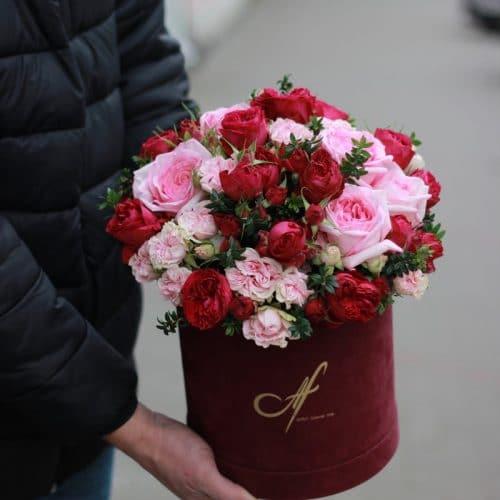 Корзина роз купить в Бресте