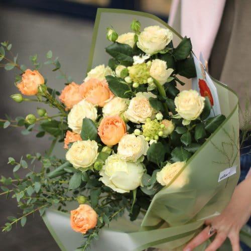 оригинальные букеты из роз в Бресте